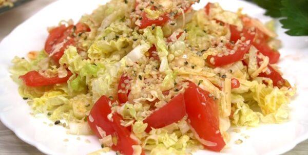 Салат «Ежедневный» готовлю постоянно и не надоедает. 2 варианта заправки