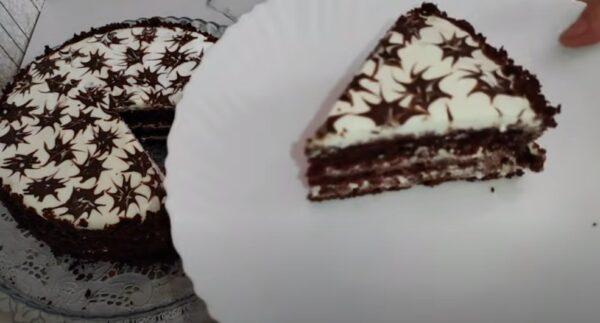 Торт три стакана – муж благодарен за вкусный и простой десерт