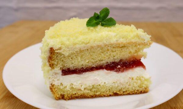 Очень простой и вкусный торт № 205