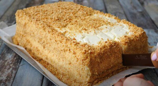 Торт «Медовик» за 30 минут без лишних заморочек! Мой любимый рецепт