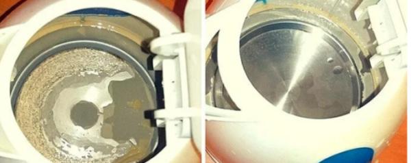 Очистила чайник от сантиметровой накипи навсегда. Займёт 5 минут, но после вы увидете свой чайник новым и блестящим. Рассказываю