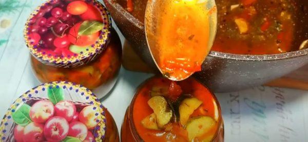 Хрустящий «Бабушкин салат» за 10 минут из огурцов. Готовлю 20 банок